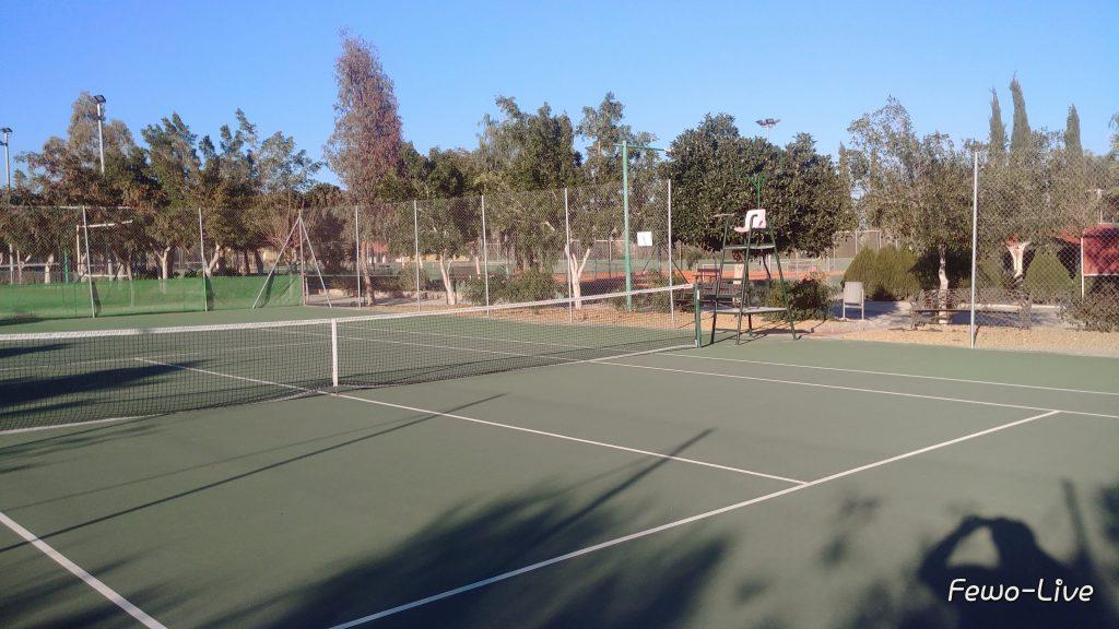 Campingplatz Go Tennis Andalusien - Vera